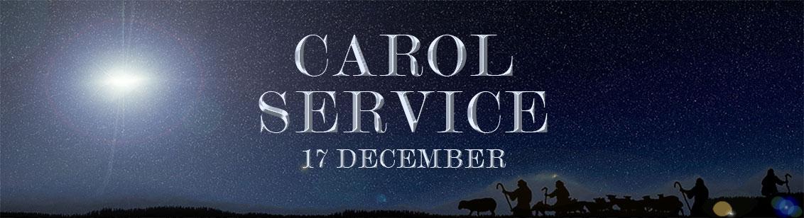 Carol Service on 17th December 2017